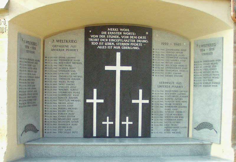Denkmalpflege Herrieden, Denkmalpflege Bechhofen, Steinmetzwerkstätte Gessler, Denkma Pfarreil