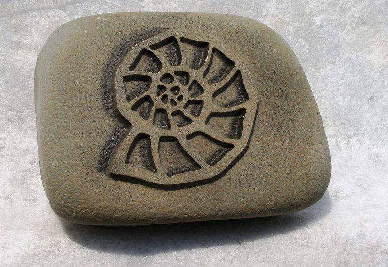 Fotogravuren Herrieden, Fotogravuren Bechhofen, Steinmetzwerkstätte Gessler, Ammonit