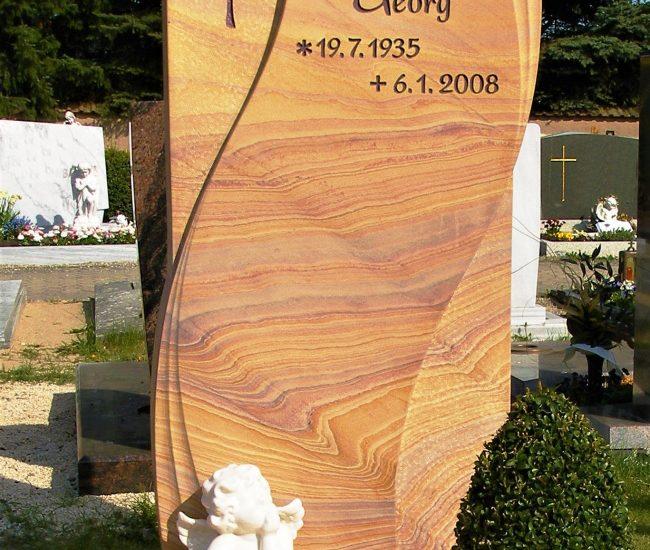 Friedhof Herrieden, Friedhof Bechhofen, Grabmal, Bechhofen Rainbow