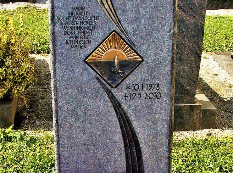 Friedhof Herrieden, Friedhof Bechhofen, Grabmal, Orion Ornamentik, Steinwerkstätte Gessler