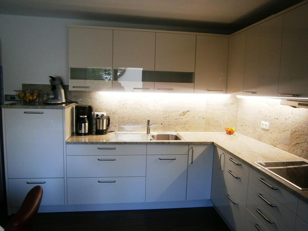 Umbau Herrieden, Umbau Bechhofen, Steinwerkstätte Gessler, Küchenzeile