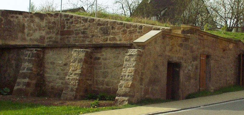 Denkmalpflege Herrieden, Denkmalpflege Bechhofen, Steinmetzwerkstätte Gessler, Sommersdorf Kellersanierung